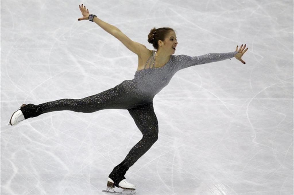 Carolina Kostner, 30 anni, la regina azzurra del pattinaggio di figura