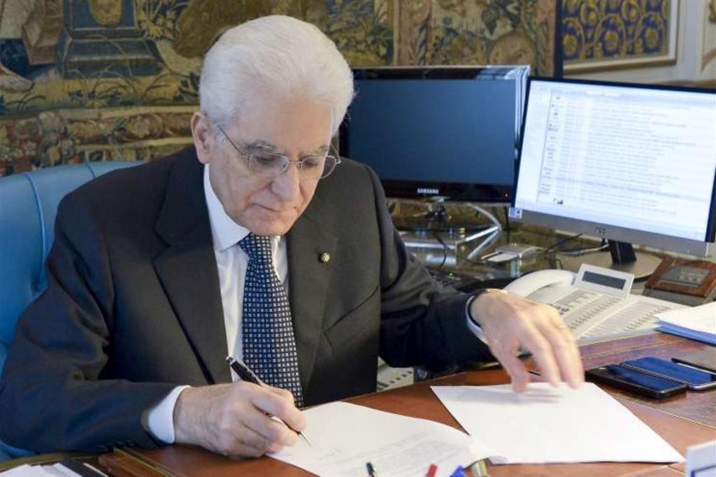 Il presidente della Repubblica, Sergio Mattarella (foto Quirinale)