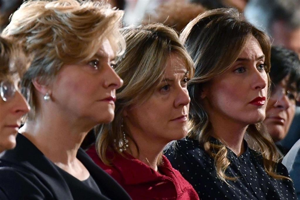 Aumentano di poco le donne elette in parlamento for Onorevoli donne