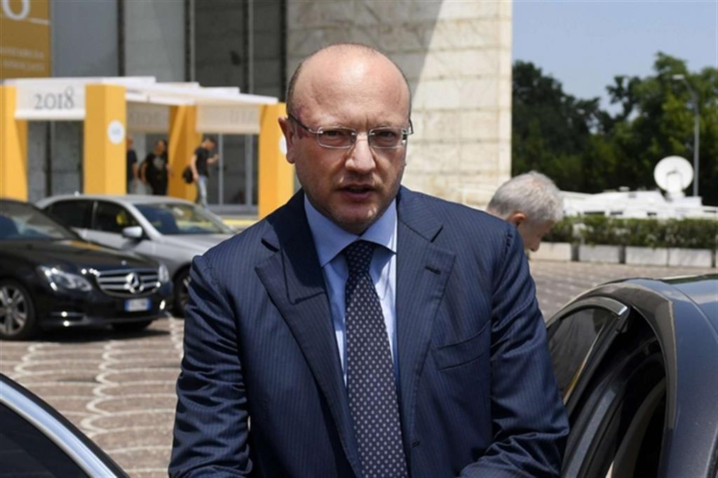 Vincenzo Boccia, presidente di Confindustria (Fotogramma)