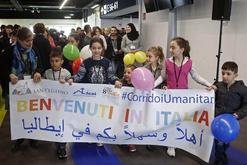 «Viva l'Italia»: accolti 90 profughi siriani. Ecco le loro storie