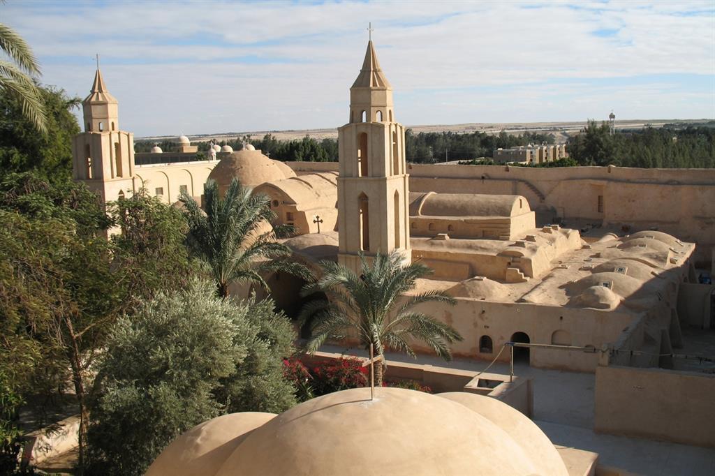 Il monastero di Wadi Natrun nel nord dell'Egitto