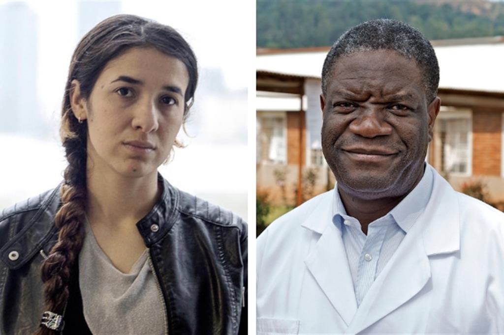 L'attivista yazida e il medico congolese: i Nobel dalla parte delle donne