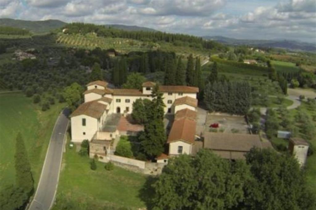 La cittadella di Loppiano vista dall'alto