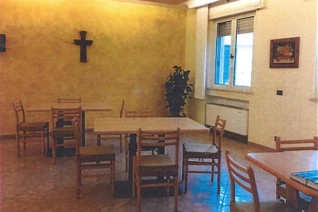 Uno scorcio dell'interno della Casa di accoglienza per papà separati inaugurata ad Albano