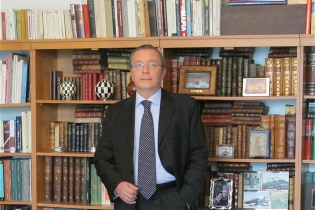 Grammenos Mastrojeni, diplomatico italiano