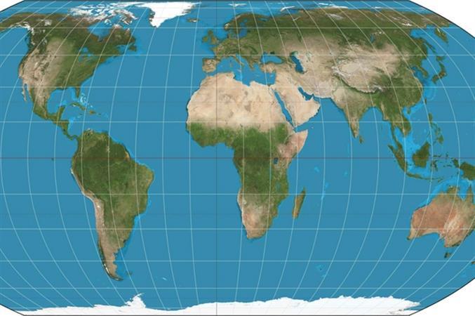 Cartina Geografica Germania Con Cap.Ora Sulle Mappe La Terra E Tale E Quale