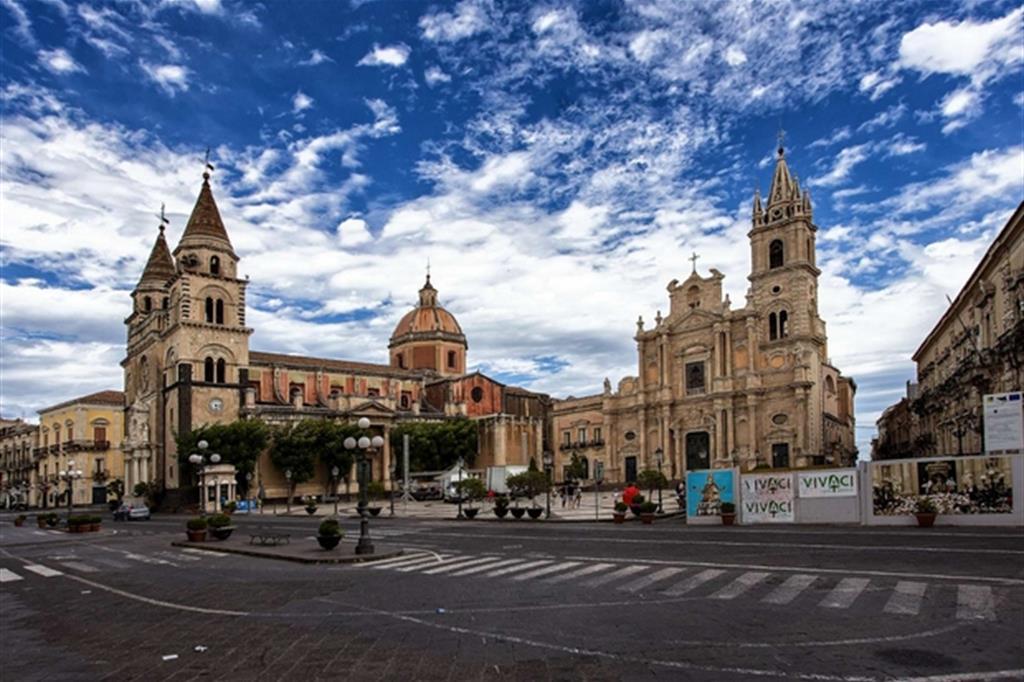 Il Duomo e la basilica di San Pietro e Paolo ad Acireale