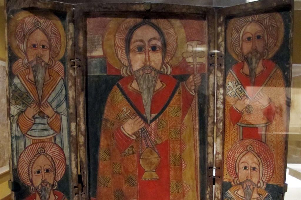 Un esempio di icona copta (immagine d'archivio)