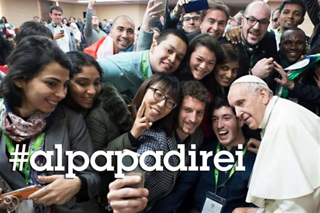 Un «hashtag» per portare al Papa la voce dei giovani