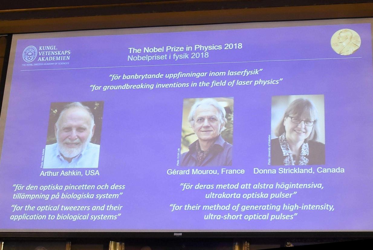 Il Nobel per la fisica a tre pionieri del laser. Tra loro