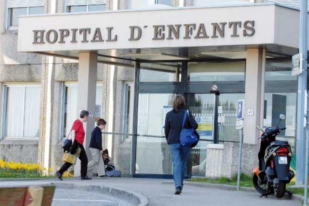 L'ospedale pediatrico di Nancy, dov'era ricoverata Inés.
