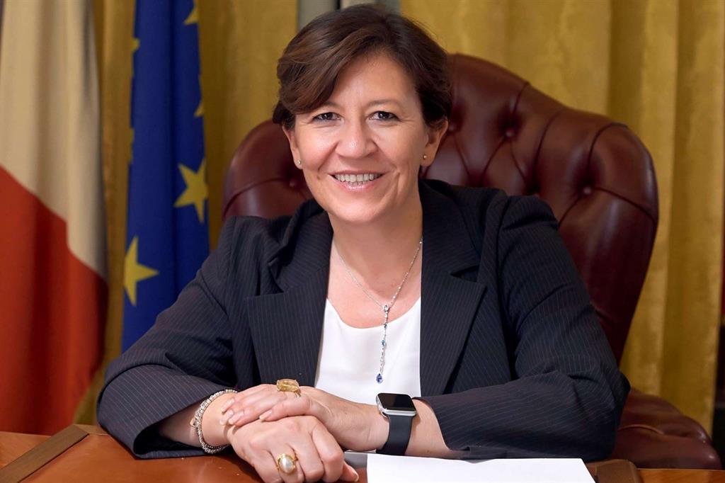 Elisabetta Trenta in una foto dell'Ufficio stampa della Difesa