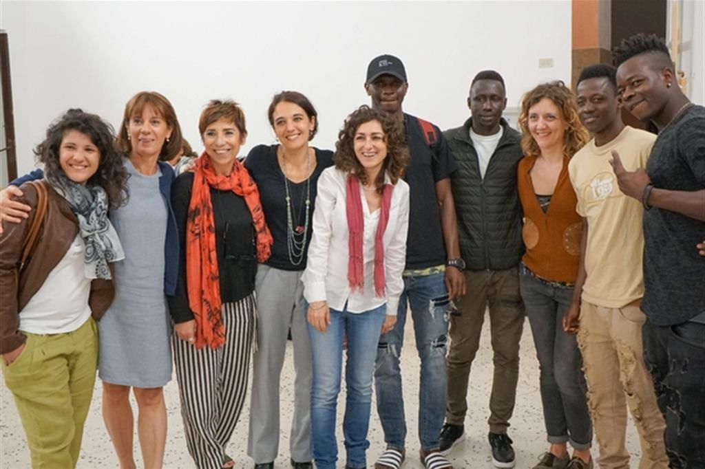 I ragazzi protagonisti del nuovo progetto di accoglienza a Palermo