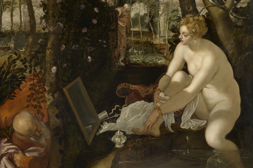 Tintoretto, «Susanna e i vecchioni» (Vienna, Kunsthistorisches)