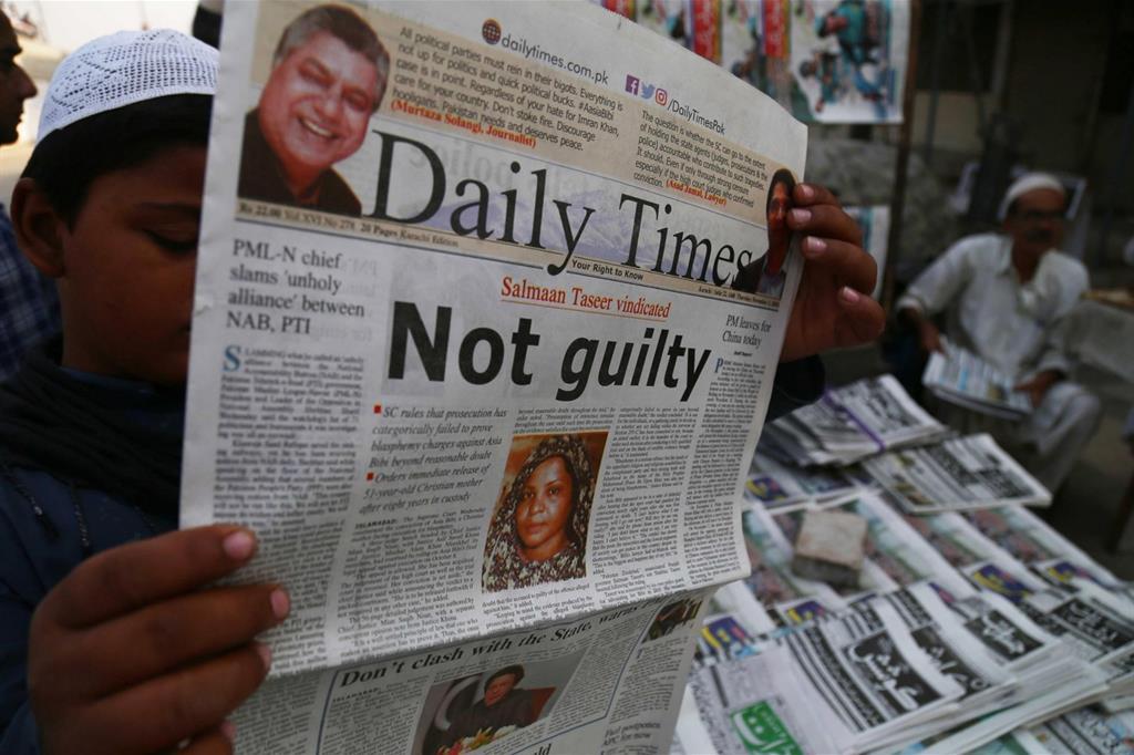 Asia Bibi non è colpevole