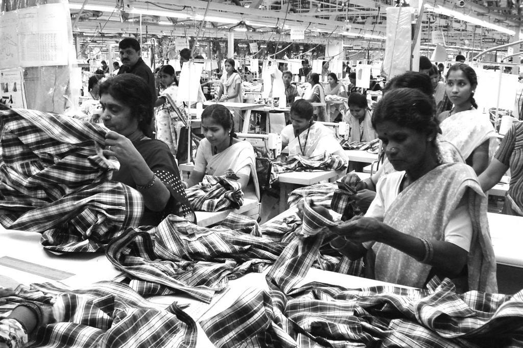 Azienda tessile in India (credits Clean Clothes Campaign)