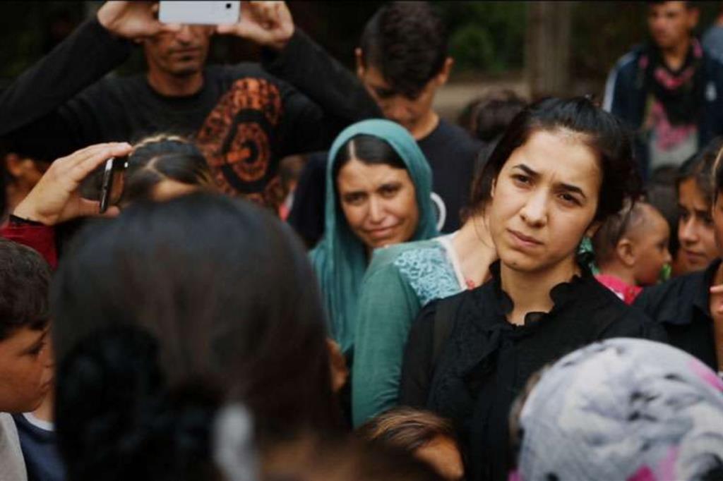 Nadia Murat nel documentario «Sulle sue spalle», nelle sale fino al 12 dicembre, sulla sua drammatica vicenda