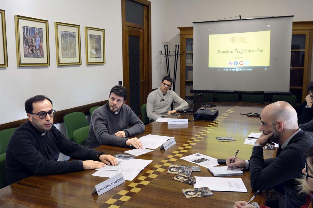 La conferenza stampa di presentazione dell'iniziativa a Padova (Boato)