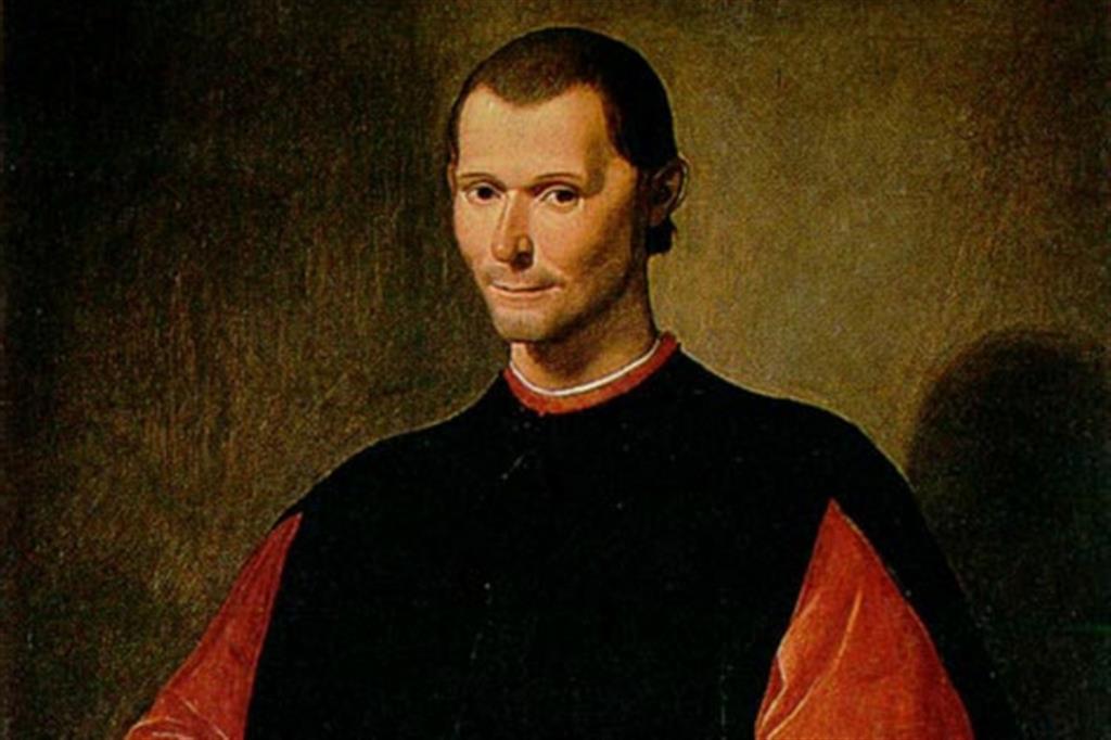 Machiavelli ritratto da Santi di Tito