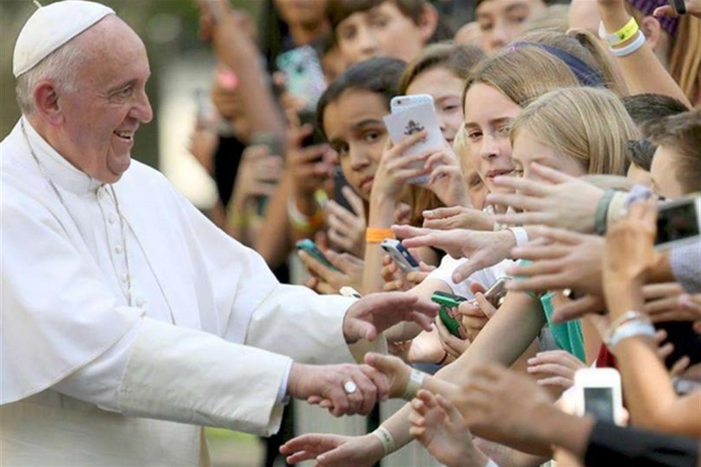 Risultati immagini per immagine di papa francesco