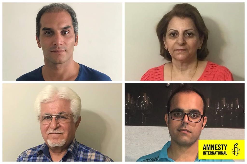 Victor Bet-Tamraz, Amin Afshar-Naderi, Shamiram Issavi e Hadi Asgari