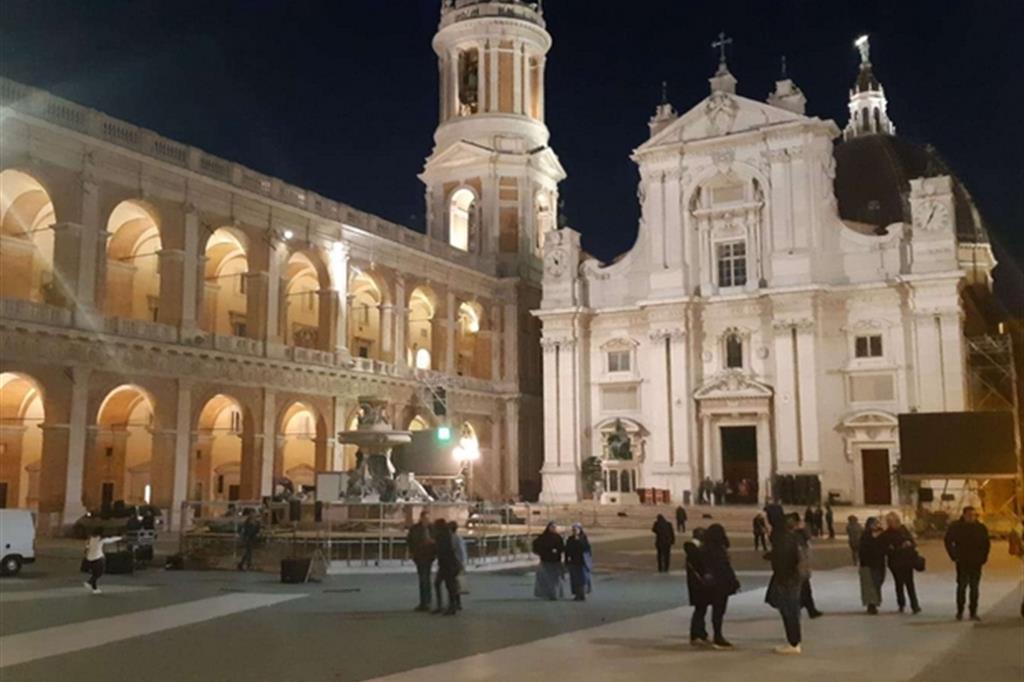 Loreto in festa attende la visita di Papa Francesco