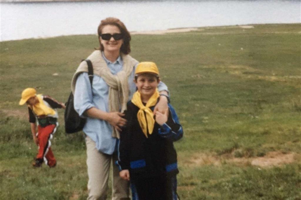 Mamma Maria col piccolo Francesco