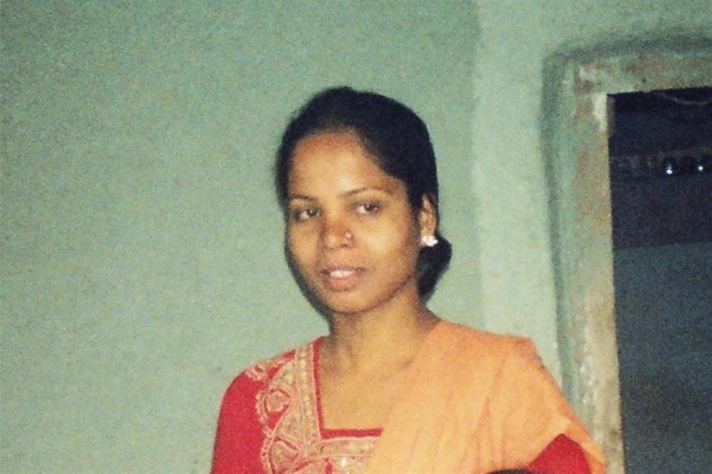 Asia Bibi, in una foto senza data messa a disposizione dai familiari (Ansa)