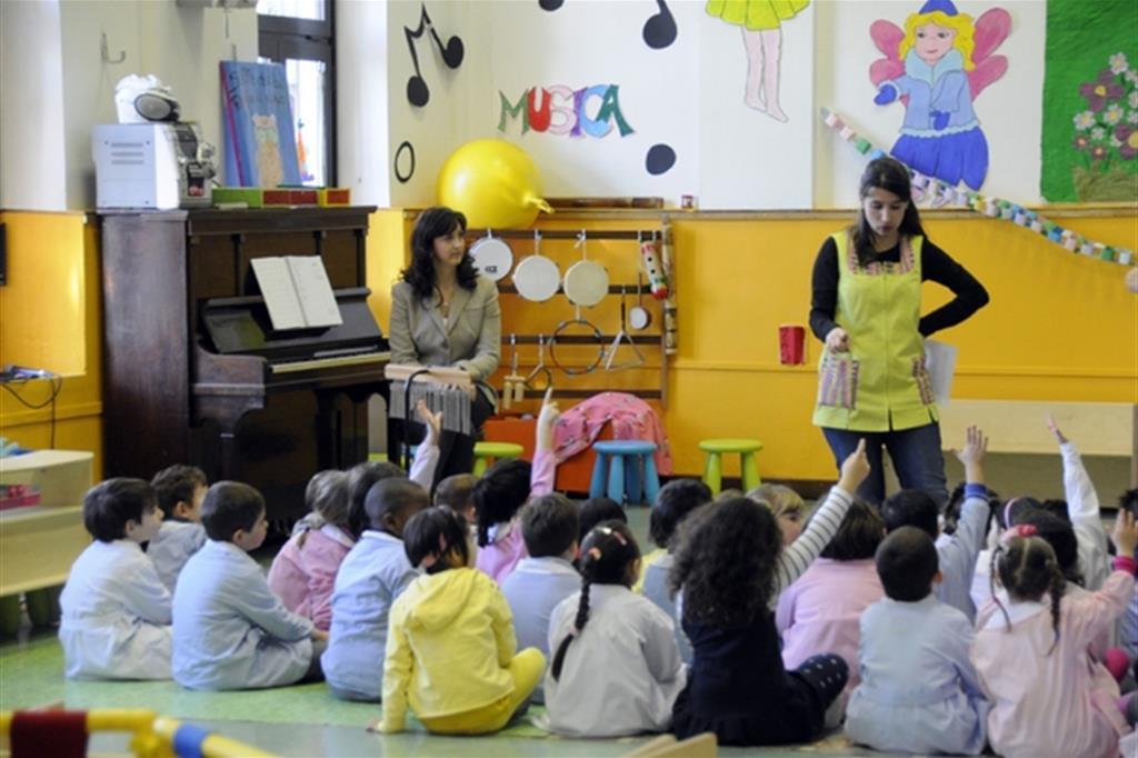 Scuola paritaria (foto di archivio, Boato)