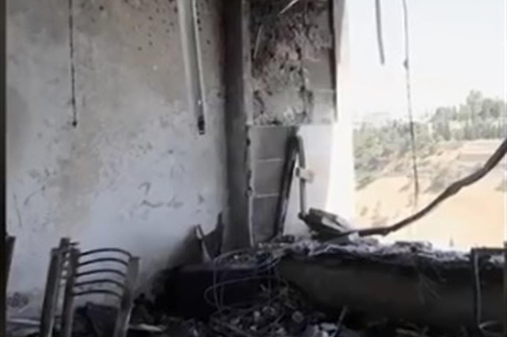 Gli studi a Gerusalemme di Daystar distrutti dalle fiamme