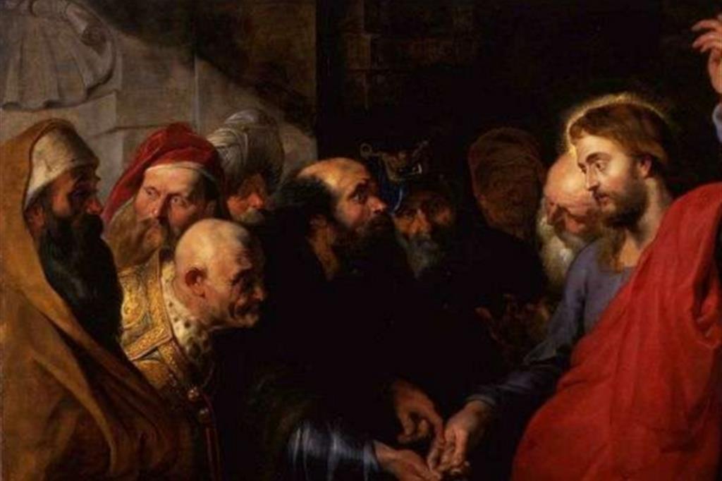 Rubens, La moneta del tributo