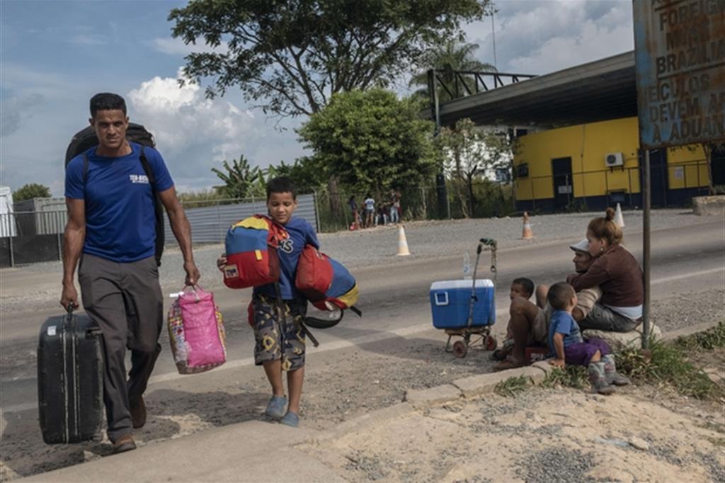 La vita dei migranti venezuelani nei rifugi (Francesco Pistilli /Avsi)