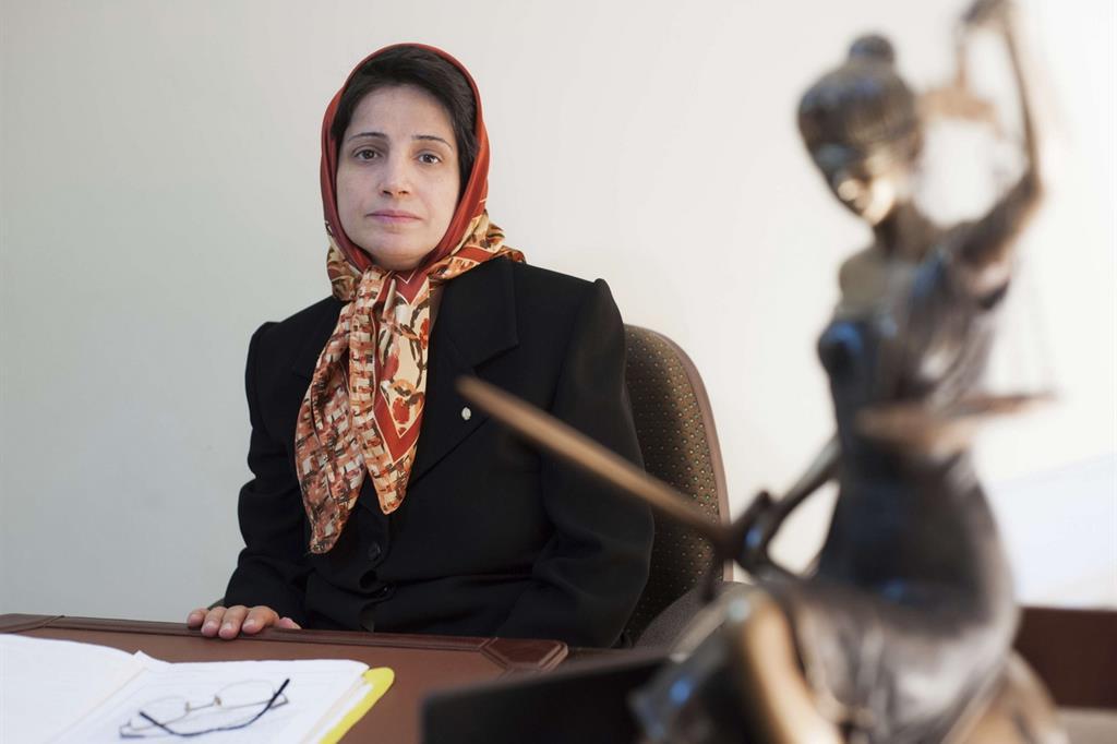 L'avvoatessa iraniana Nasrin Sotoudeh (Ap)