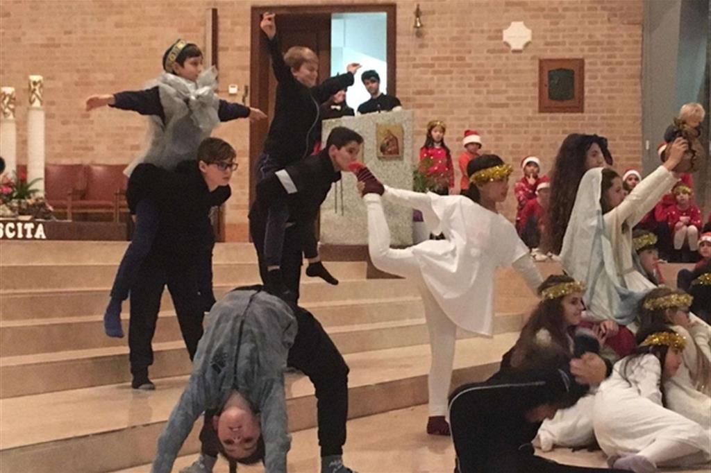 Il presepe danzante, il grande evento raccontato da bimbi di tutto il mondo