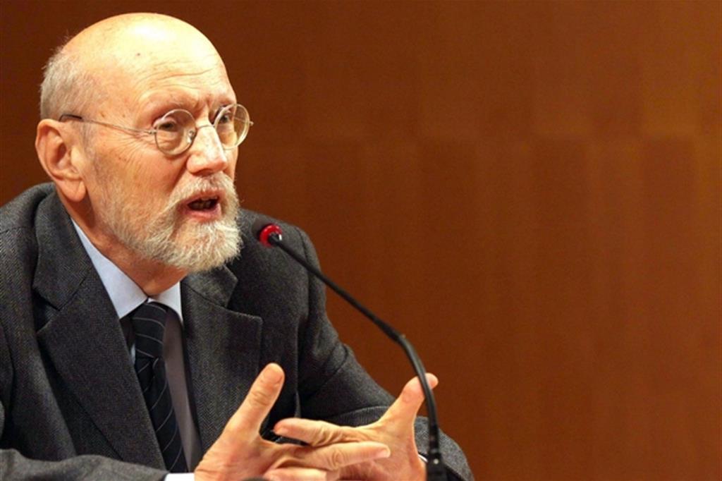 Lo scrittore Ferruccio Parazzoli