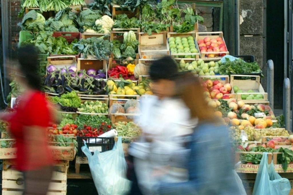 Frutta e verdura. Ci sono anche i furbetti del biologico (foto d'archivio Ansa)