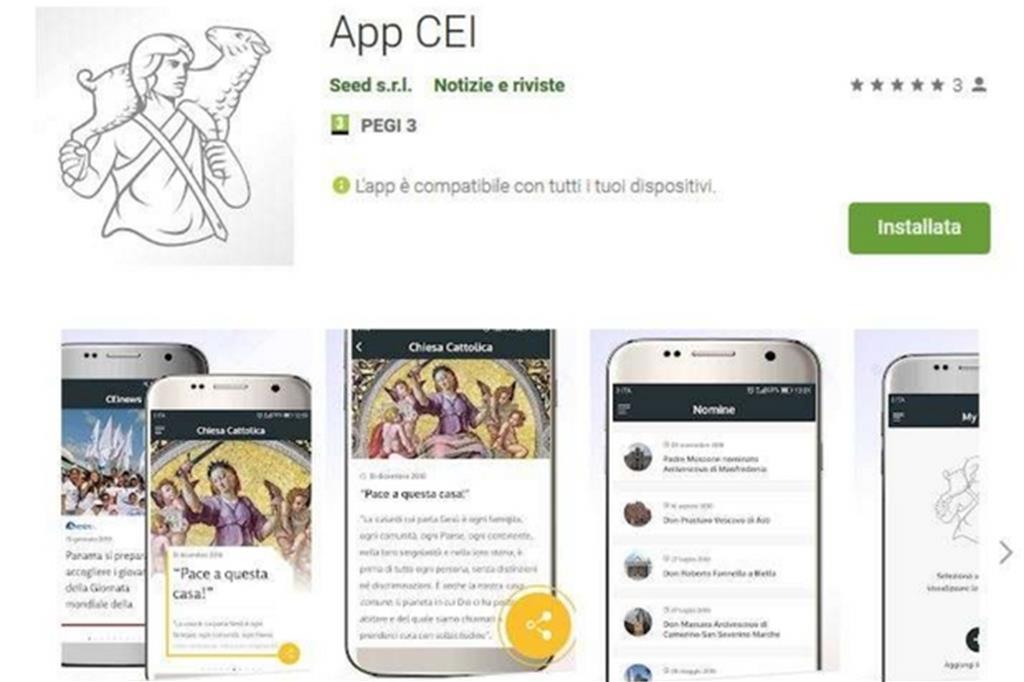 La nuova «App Cei»: notizie e approfondimenti su smartphone e tablet