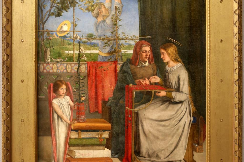 Dante Gabriel Rossetti, L'infanzia della Vergine Maria