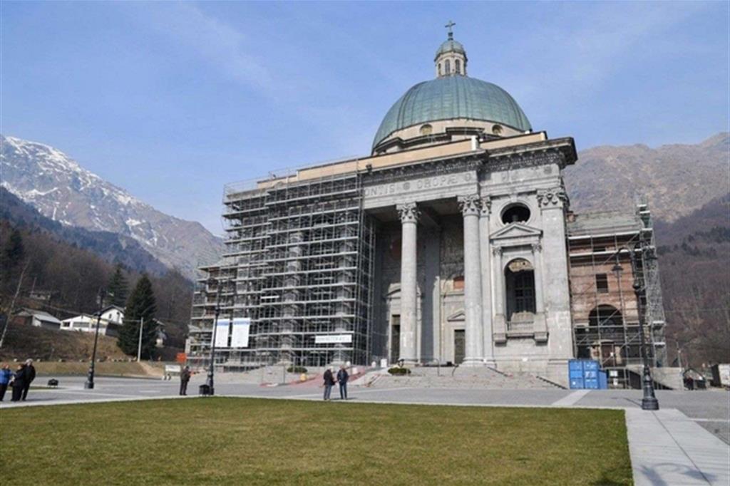 Santuario di oropa restauri nel 500 dell 39 incoronazione for Dove si trova la camera dei deputati