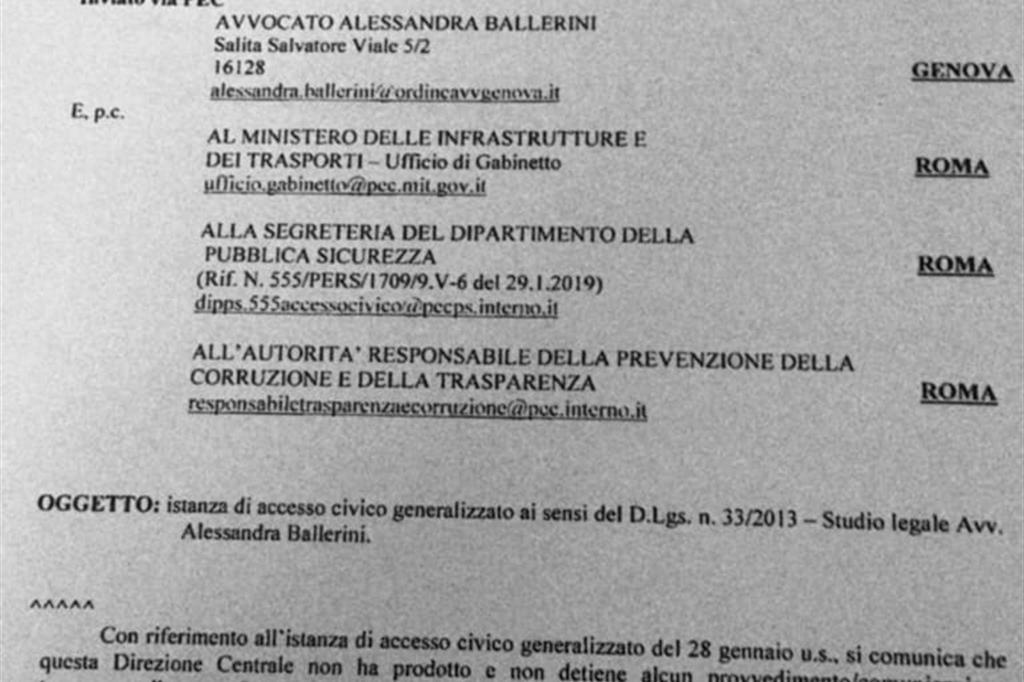 Il Viminale smentisce Salvini: «Mai dato ordine porti chiusi a Sea Watch»