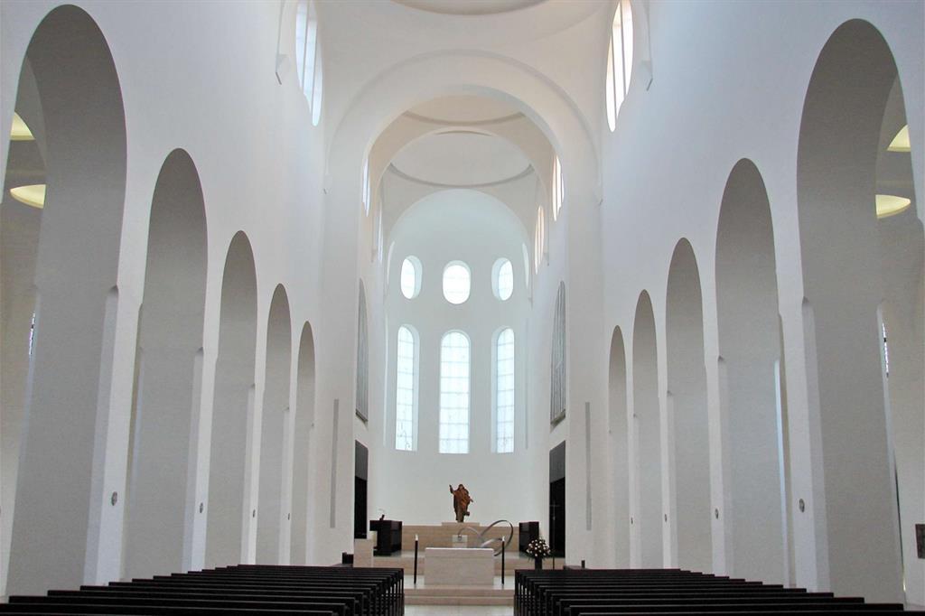 La chiesa di St. Moritz ad Augusta, ristrutturata da John Pawson (WikiCommons)