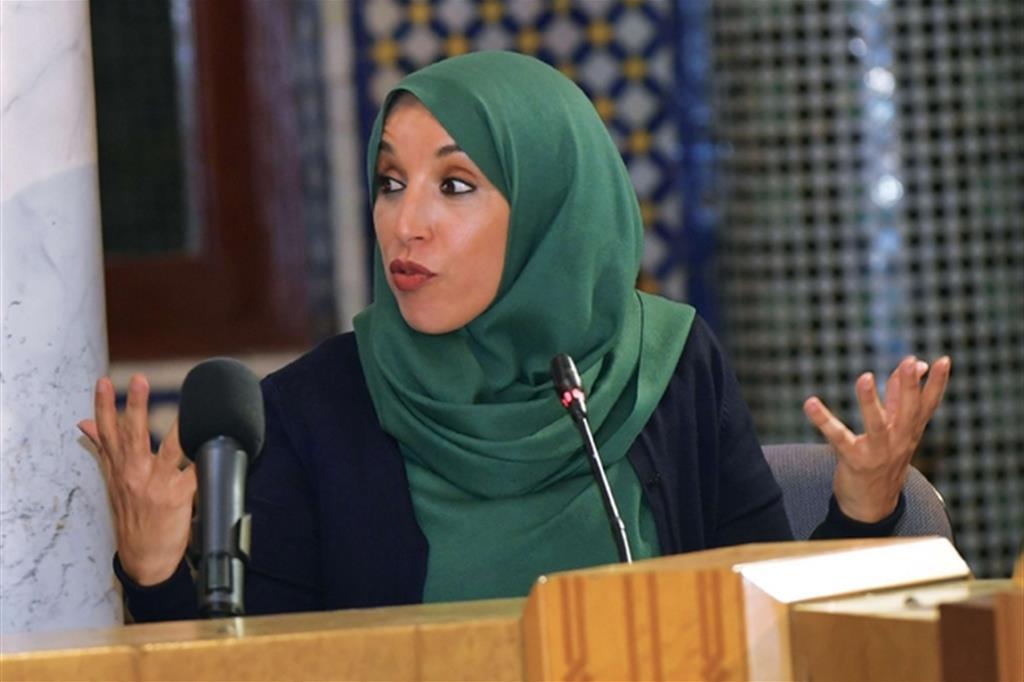 Aicha Haddou direttore del Centro di ricerca degli Ulema del Regno