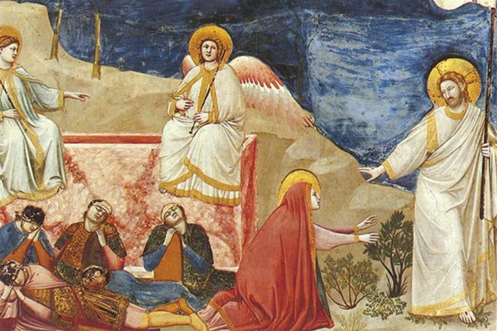 La Resurrezione di Gesù di Giotto nella Cappella degli Scrovegni di Padova