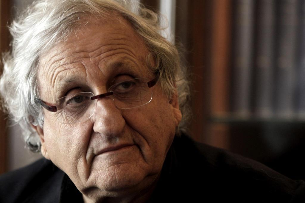 Lo scrittore israeliano Abraham B. Yehoshua, tra i più attesi al Festival di Mantova (Ansa/Albert Olive)