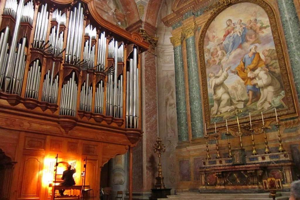 La cappella di San Bruno nella Basilica di Santa Maria degli Angeli e dei Martiri a Roma