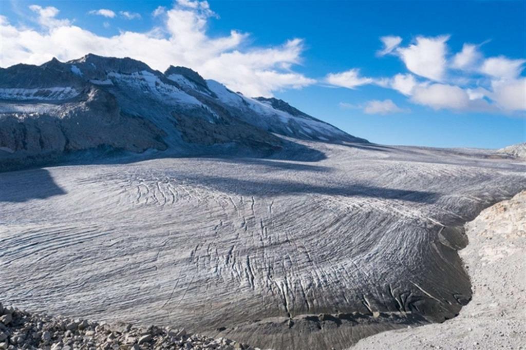 Il ghiacciaio dell'Adamello