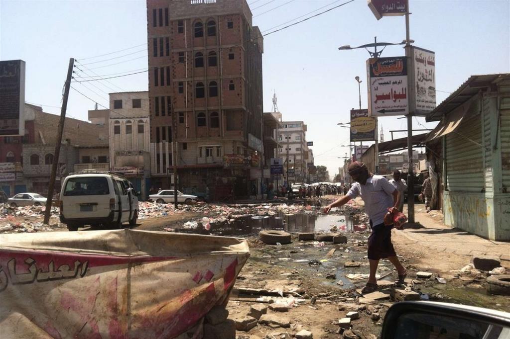 Hodeida dopo l'ennesimo bombardamento (Oxfam) -
