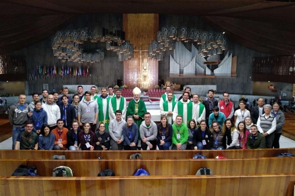 I giovani del Triveneto a Città del Messico -