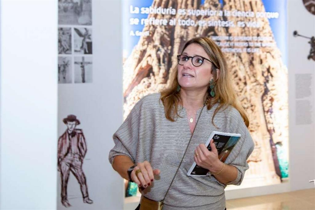 L'architetto Chiara Curti